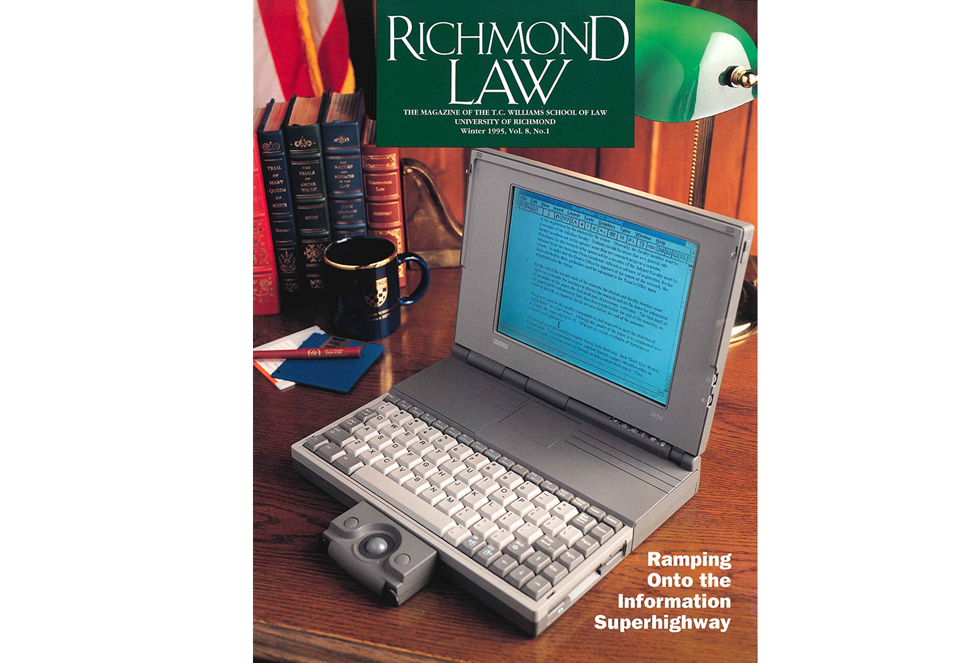 Laptops at Richmond Law