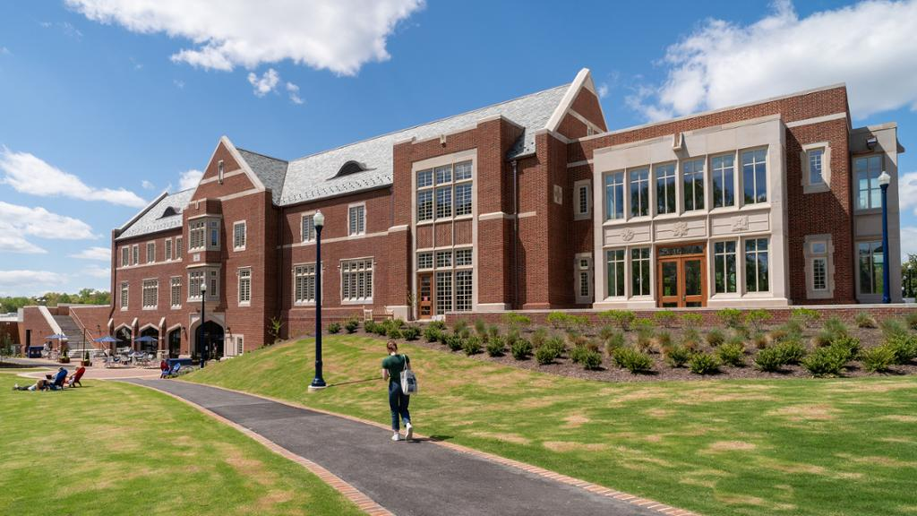 The Well-being Center and Queally Athletics Center.