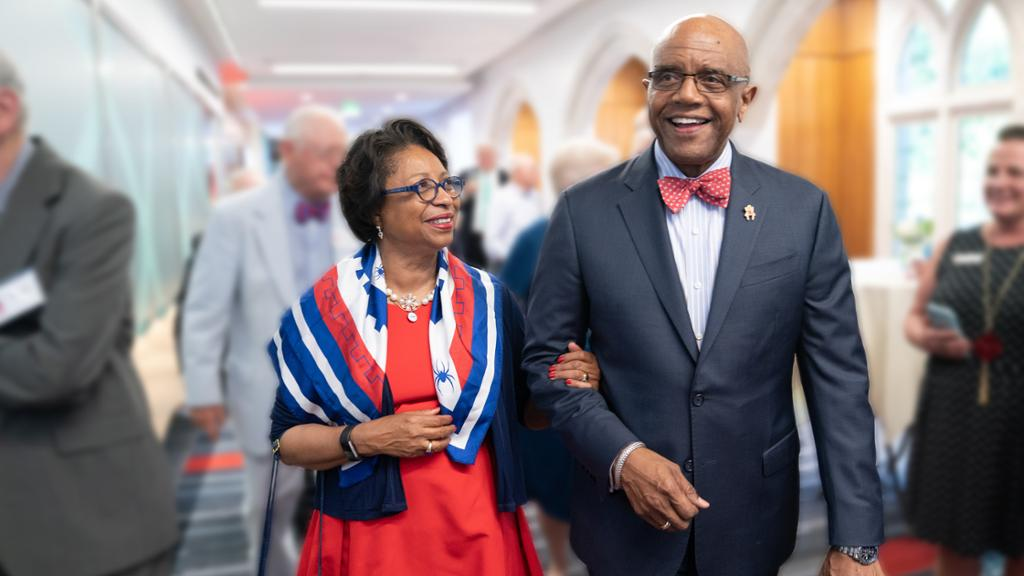 Dr. Ronald and Dr. Betty Neal Crutcher