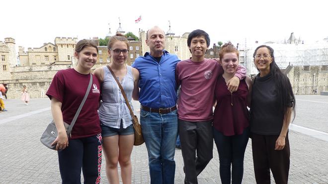 Music Students Overseas