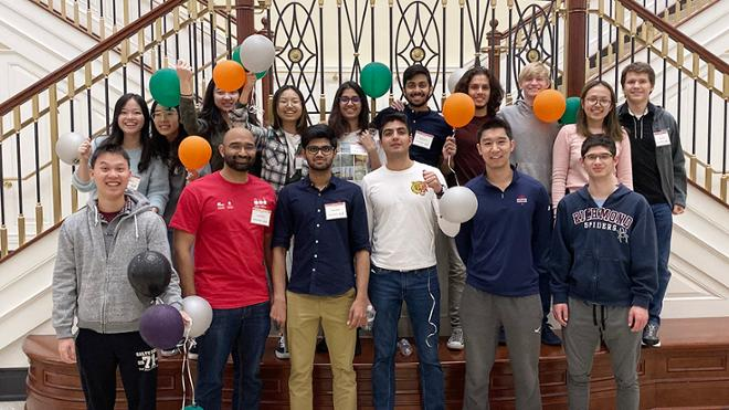 Spiders shine at international computer science competition