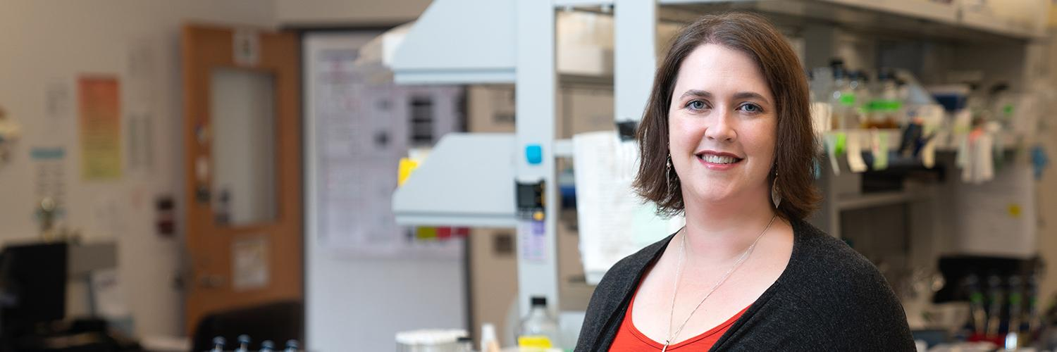 Angie Hilliker awarded $405,000 NIH grant for research on production of proteins