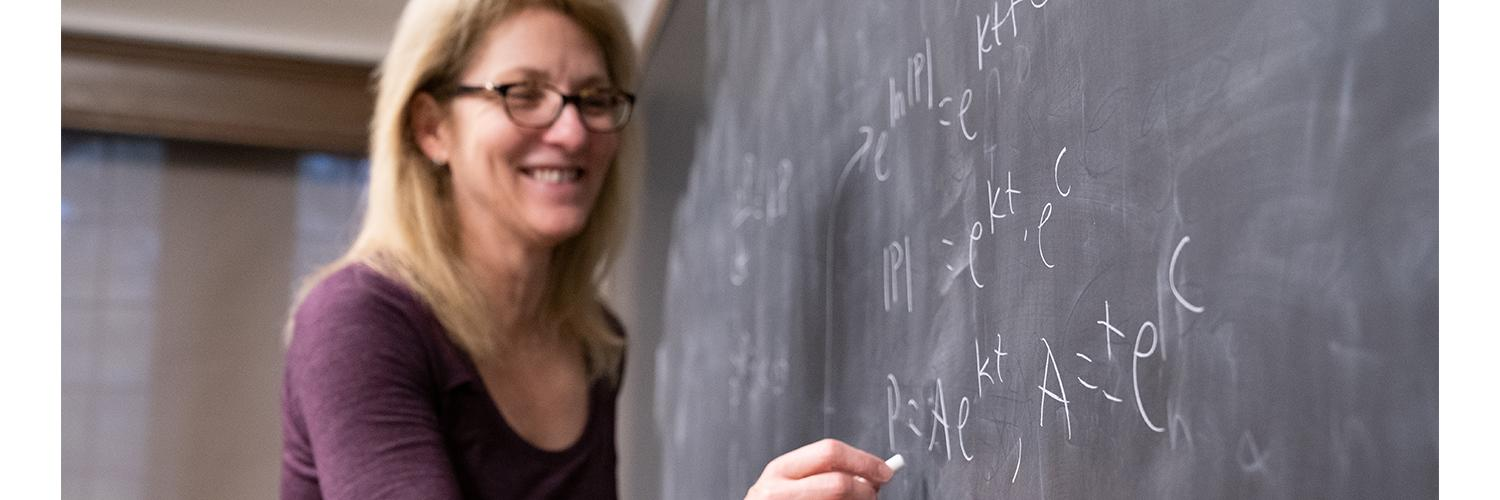 UR math professor honored for extraordinary teaching