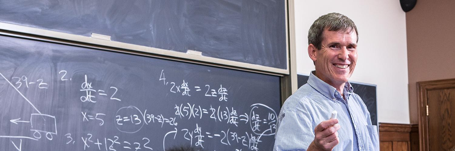 Mathematics professor awarded NSF grant for conference series focused on intersection of math and communication