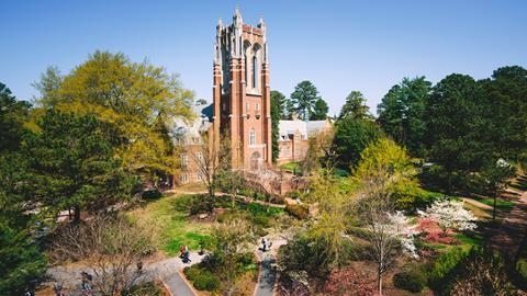 University of Richmond Recognized by Princeton Review with