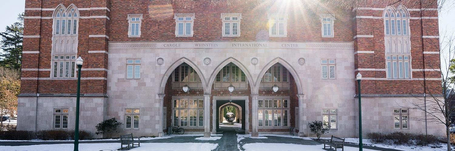 Four UR Students Awarded Gilman Scholarships to Study Abroad in England, Jamaica, China, France, and Switzerland in 2021