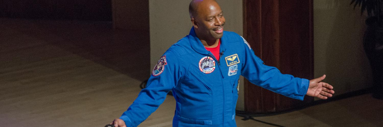 Chasing Space: An Evening with Leland Melvin, R'86