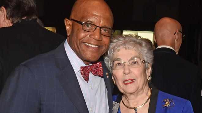 Alumna honored for her 'transformational philanthropy'