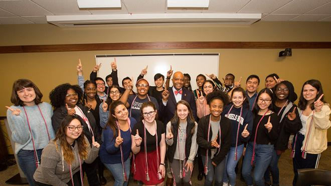Crutcher affirms UR's commitment to first-gen students