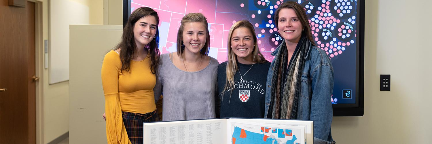 Undergrad mapping project is first of its kind