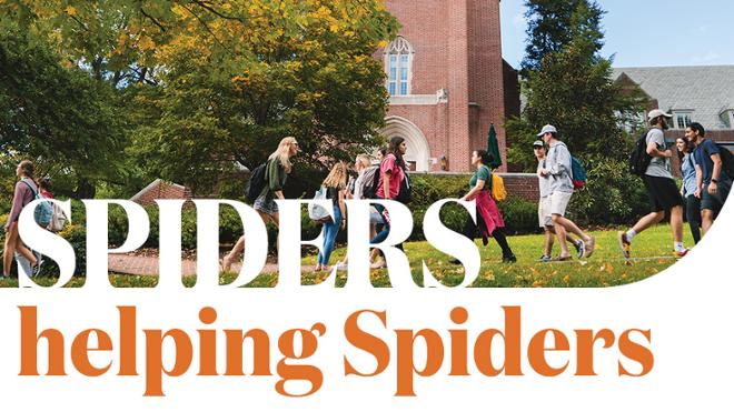 Spiders rally to support students in need