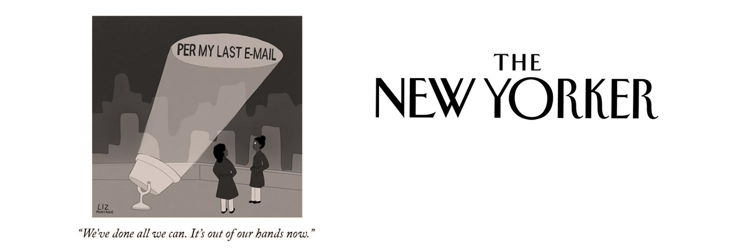 The New Yorker publishes alum's cartoon