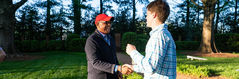 President Crutcher cultivates mentorship among UR faculty
