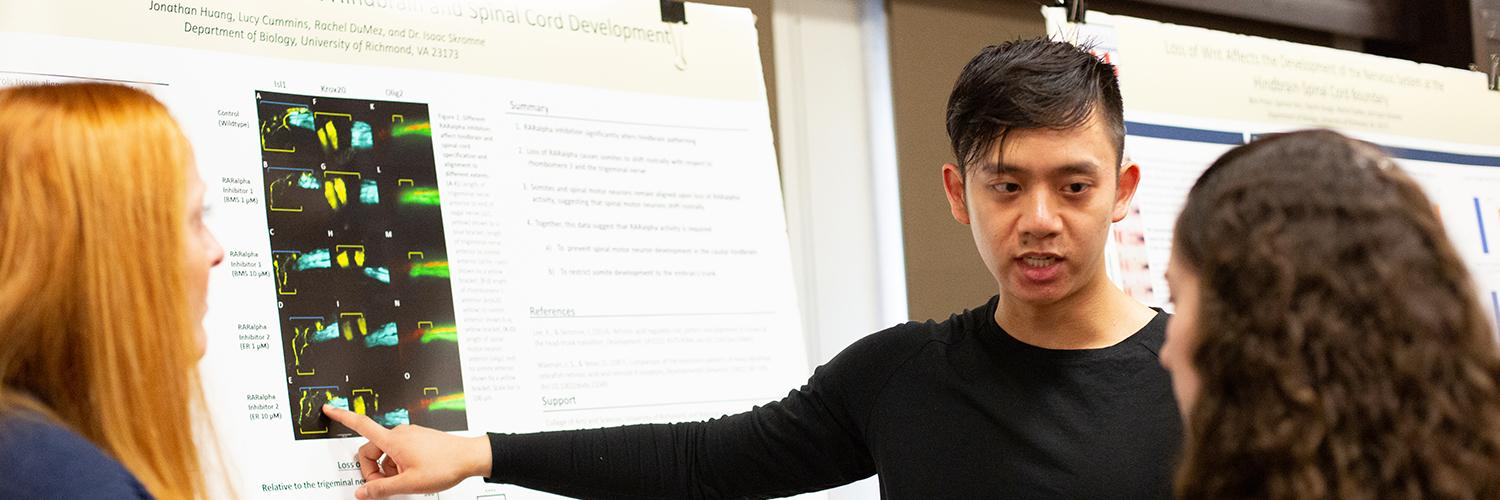 Student-led discoveries shine at A&S Symposium