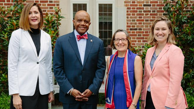 Distinguished alums honored at annual service awards