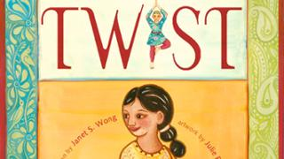 book cover: Twist by Janet Wong