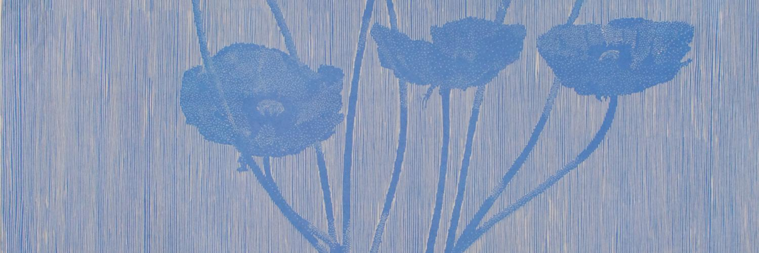 Birds & Poppies: Large-Scale Woodcuts by Richard Ryan