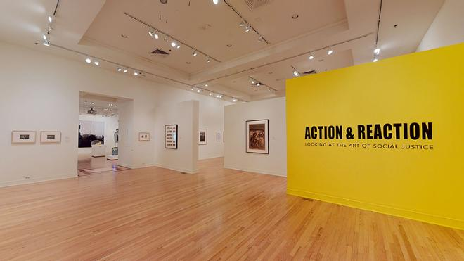 Virtual Tour: Action and Reaction