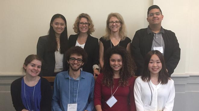 Math faculty and students attend WINRS at UVA