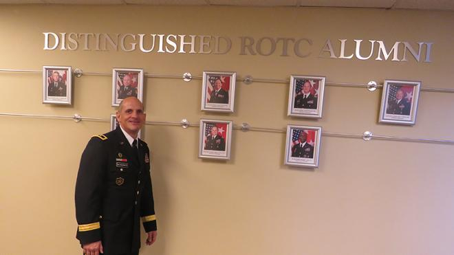 ROTC Alumni Wall