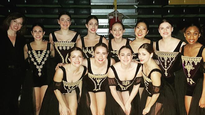 University Dancers Perform at ACDA Conference