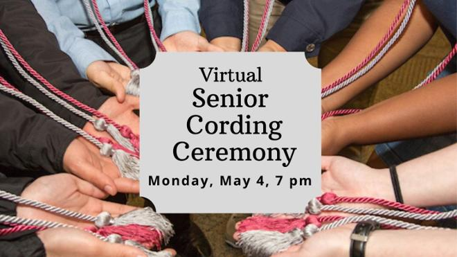 First Gen Cording Ceremony