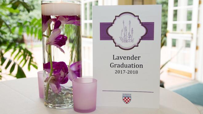 Lavender Graduation 2018