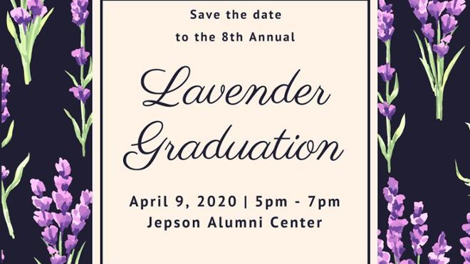 Lavender Graduation 2020