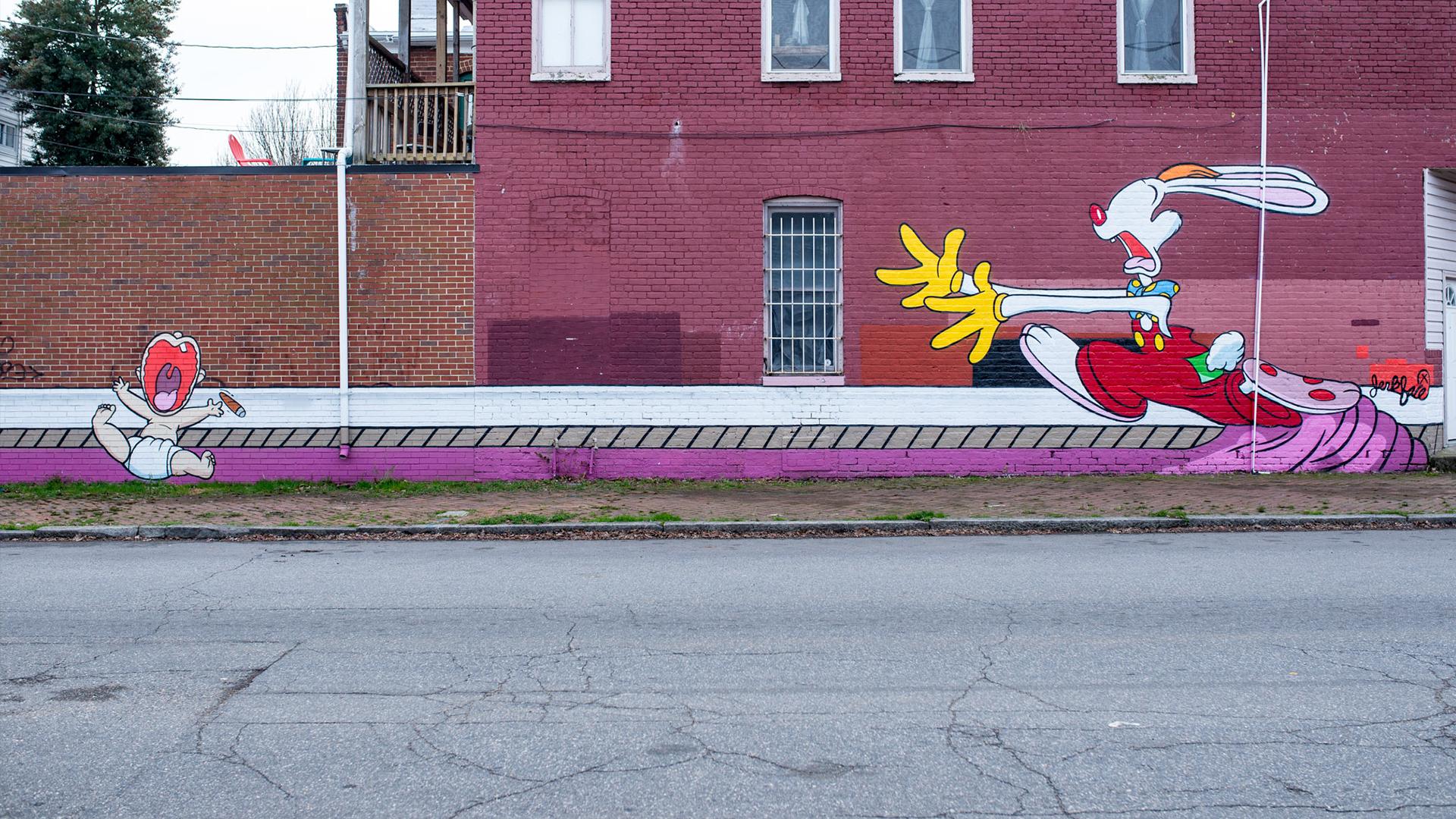 Street Art - Pine Street
