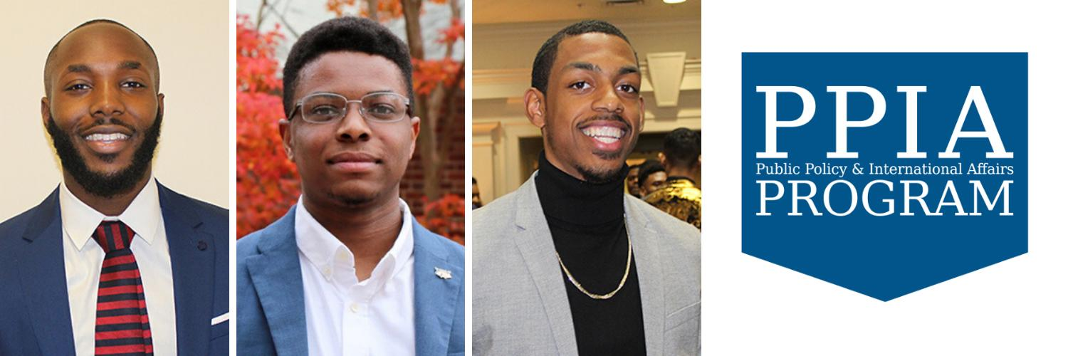 Three UR Students Selected to Participate in Public Policy and International Affairs Junior Summer Institute Fellowship Program