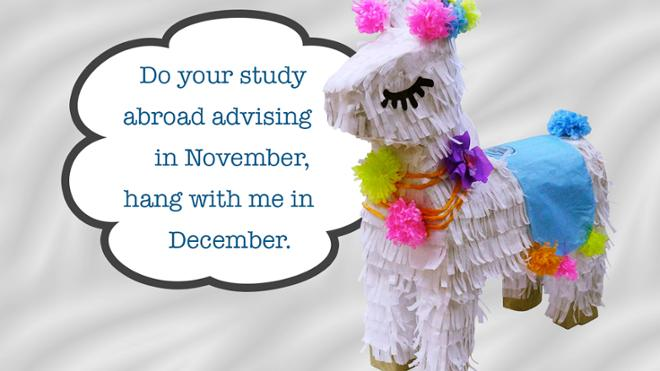 Early Advising: Fall 2020 Study Abroad