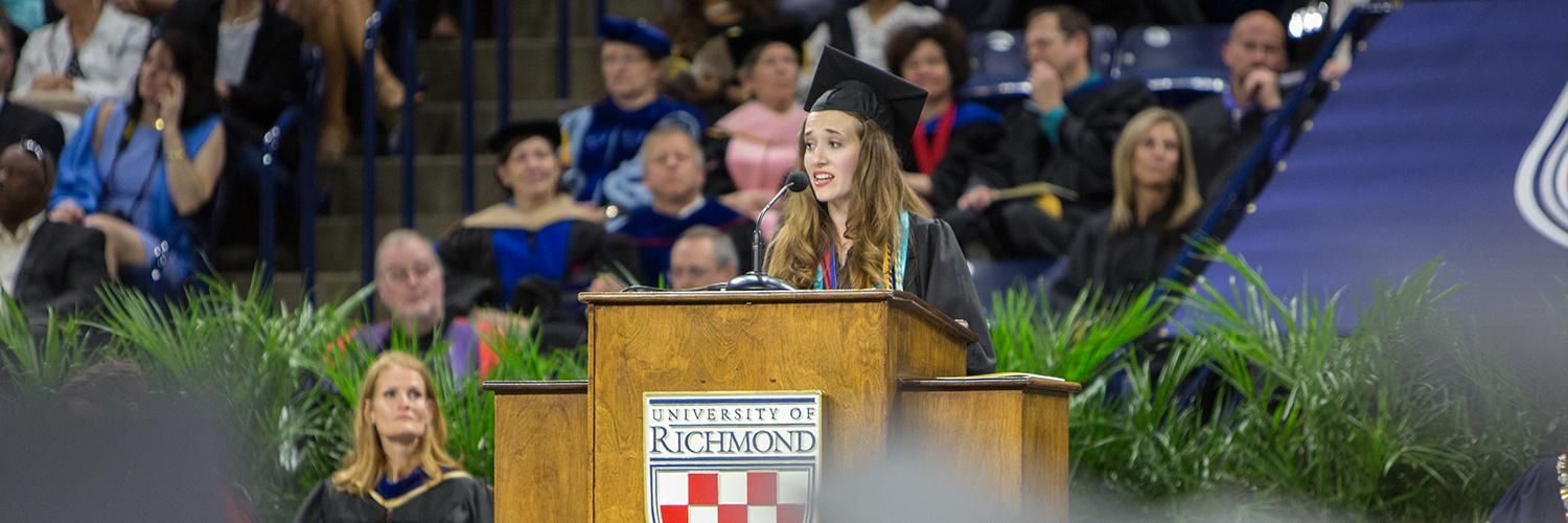 Commencement Student Speaker Selection