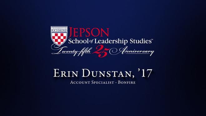Erin Dunstan, '17 - Account Specialist, Bonfire