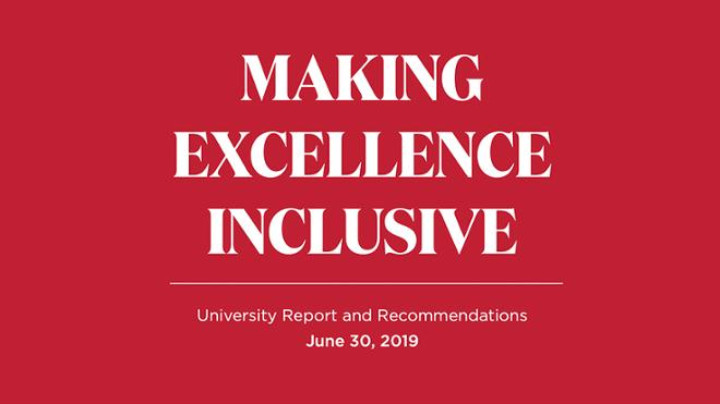 Making Excellence Inclusive Report & Recommendations: June 2019