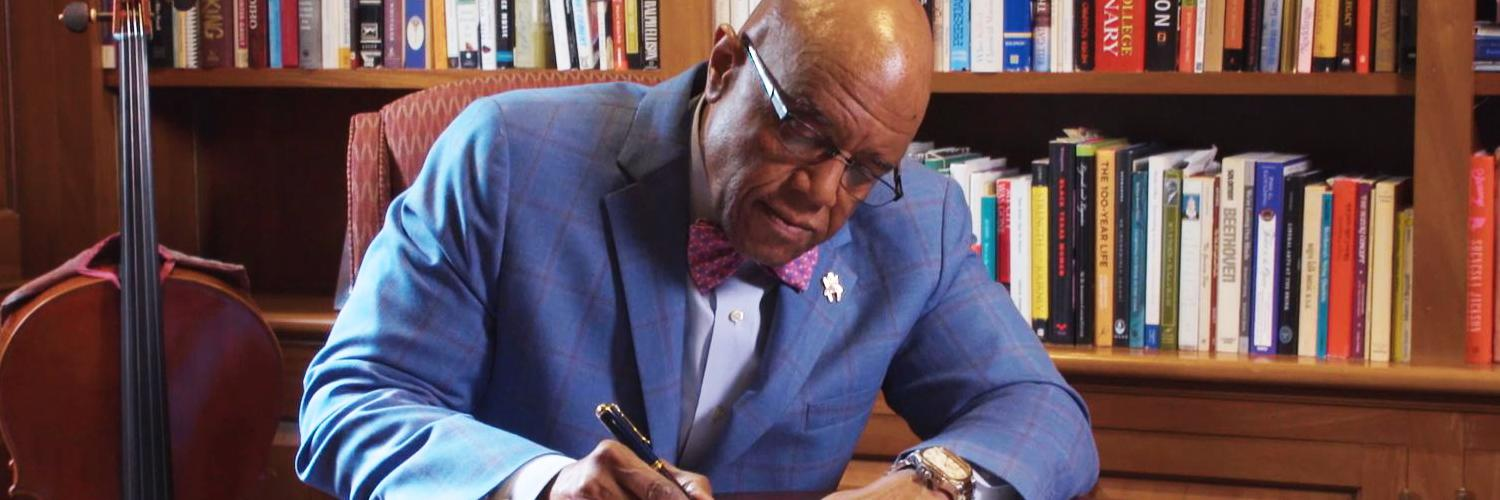 An important message from President Crutcher