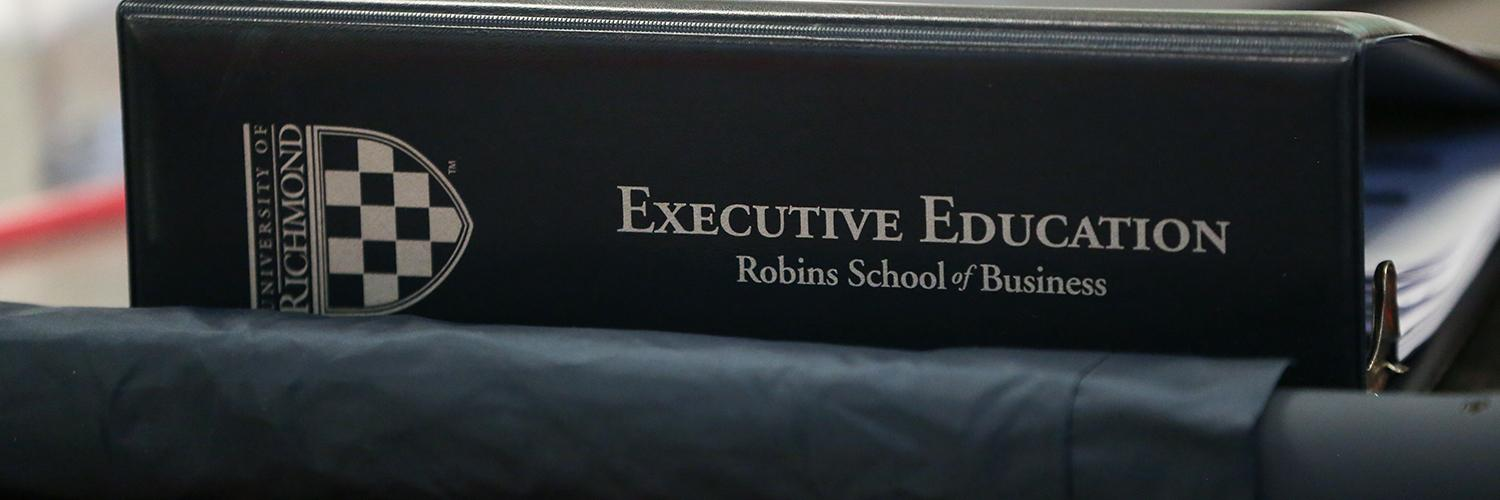 Course List And Registration Executive Education Robins School