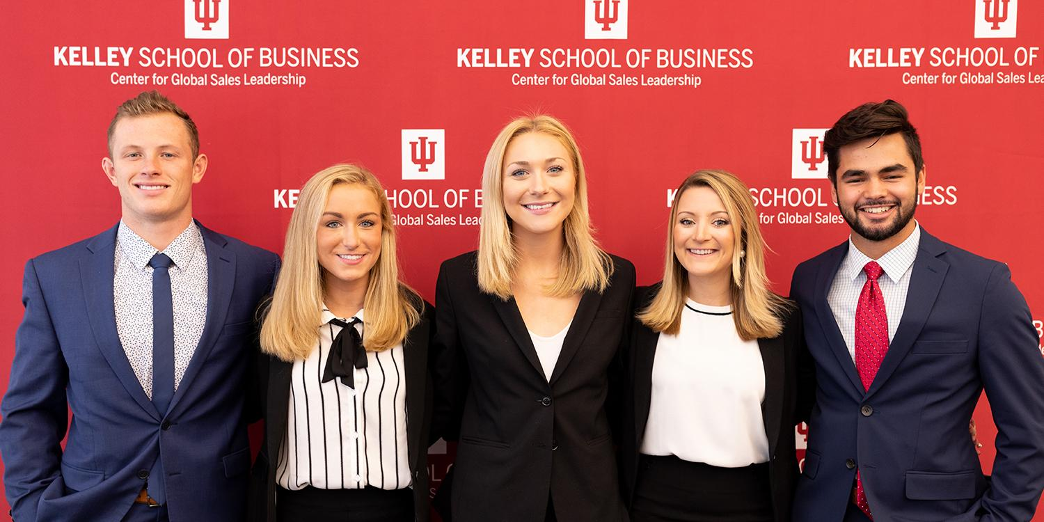 Student named top salesperson at National Team Selling Competition