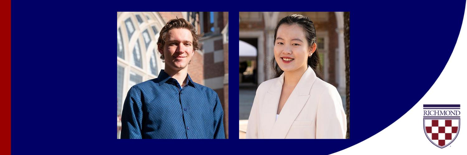 Two University of Richmond Students Selected as Rhodes Finalists