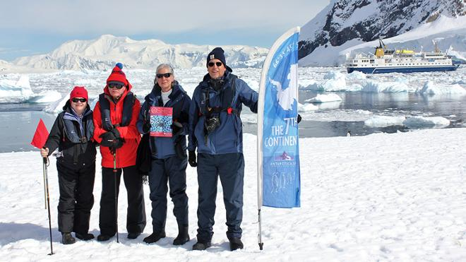 Osher members in Antarctica