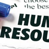Human Resources text illustration