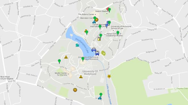 Campus Sustainability Map