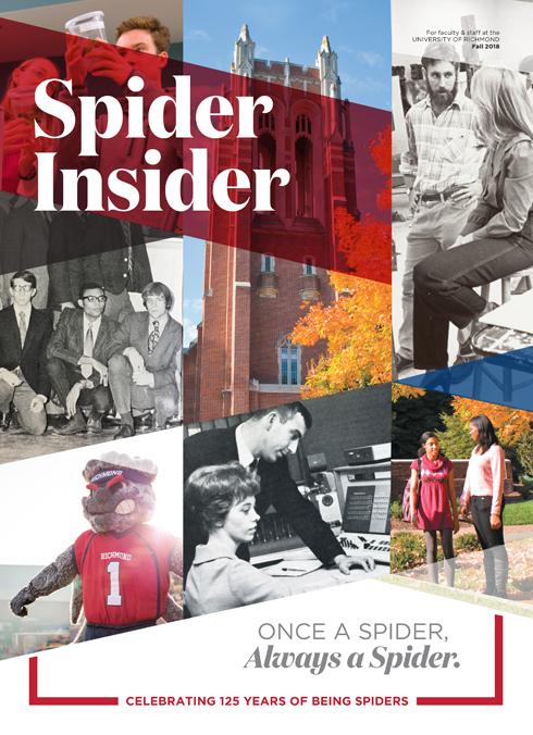 Spider Insider: Fall 2018