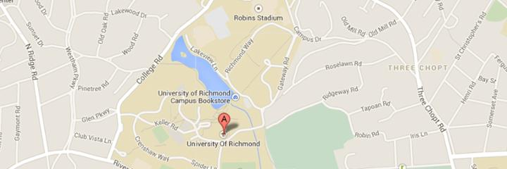 Directions Visit University of Richmond